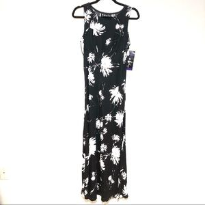 "☀️Vintage 90""s All That Jazz Long Floral Dress NWT"